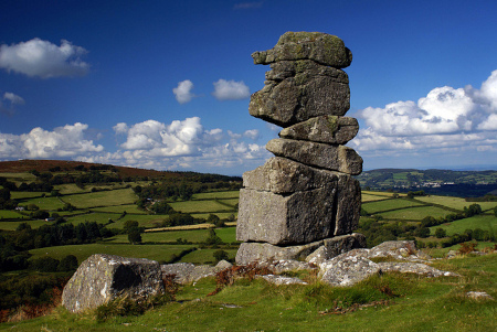 Bowerman's Nose on Dartmoor