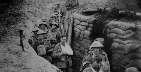 Faith aided soldiers in the trenches