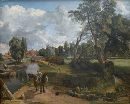 Constable's Flatford Mill