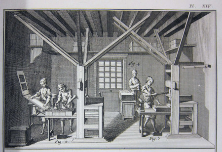 Printing in the 1790s