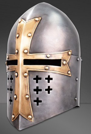 Larping all the way to the bank - imitation helmet