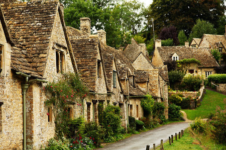 Cottages of the Cotswold inspiration for Tolkien's Shire