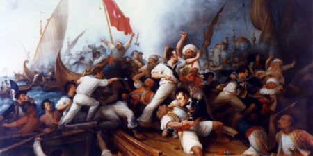 US at war with Barbary States