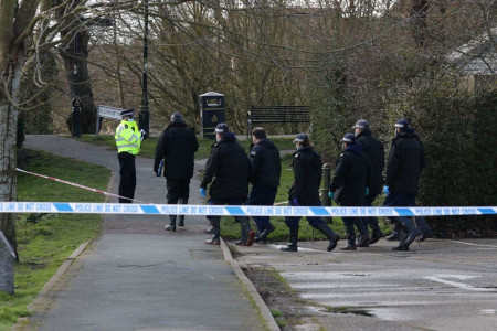 Kent Police search team