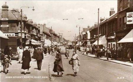 East Ham in 1950