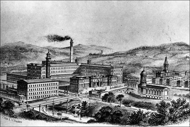 Sprawling manufactory of Bradford