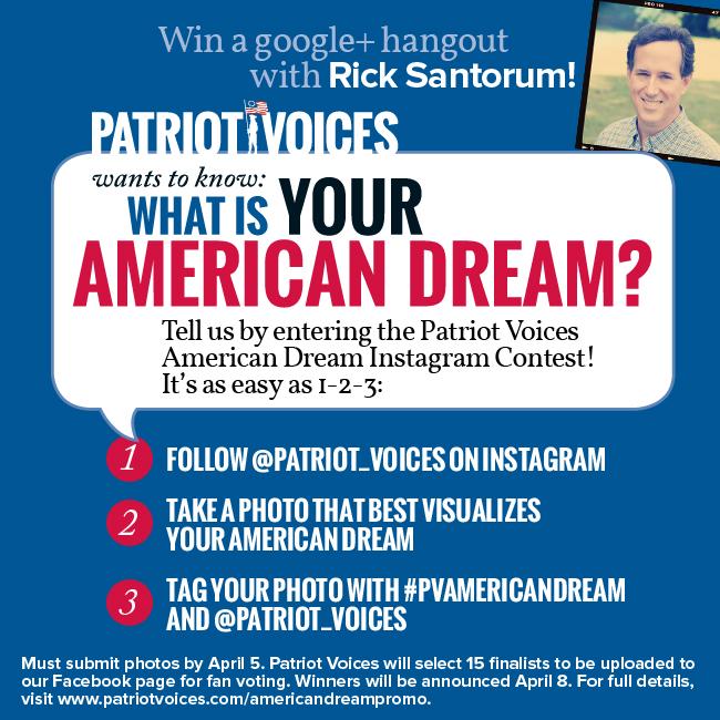 American Dream Promo - Patriot Voices