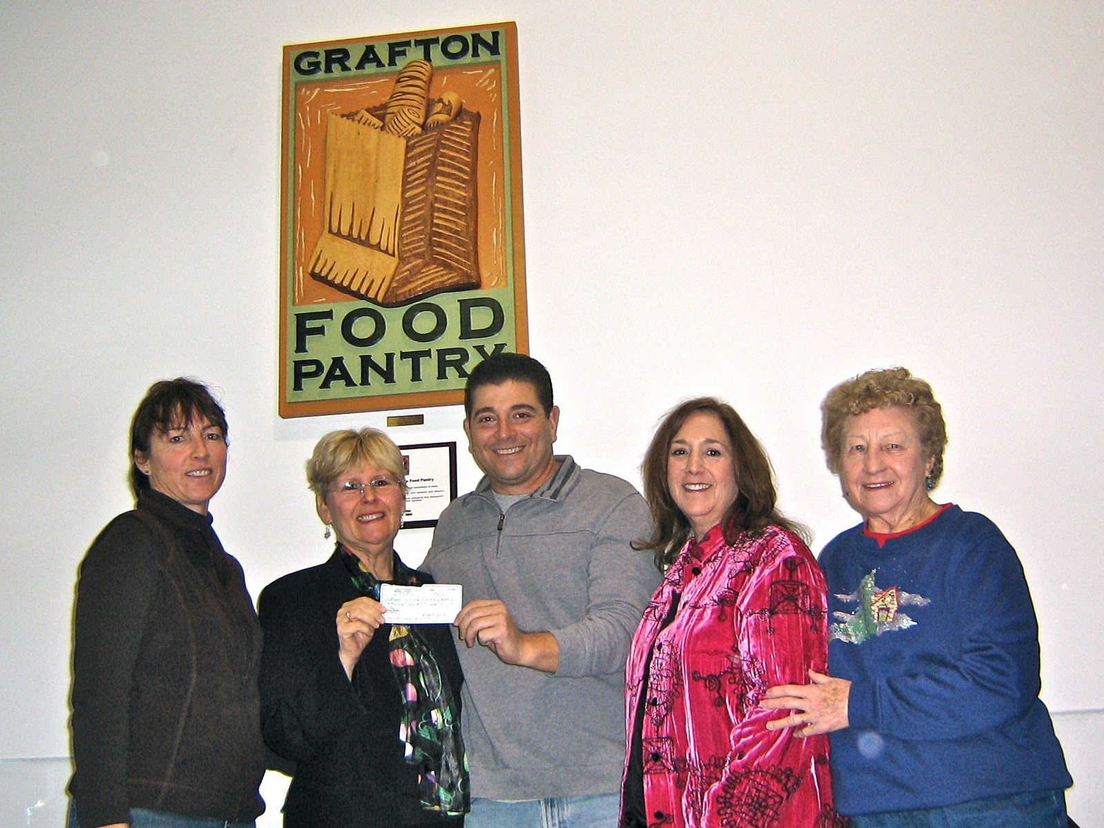 Grafton Food Pantry Donation