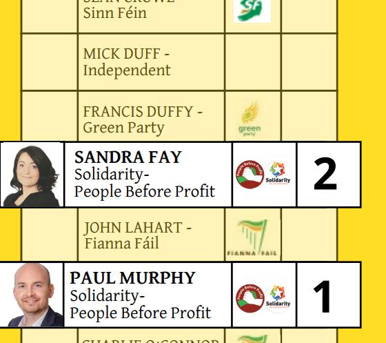 Sample vote