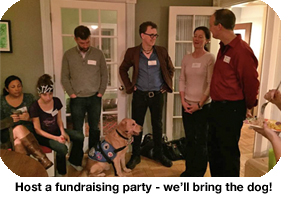 Host a fundraising party