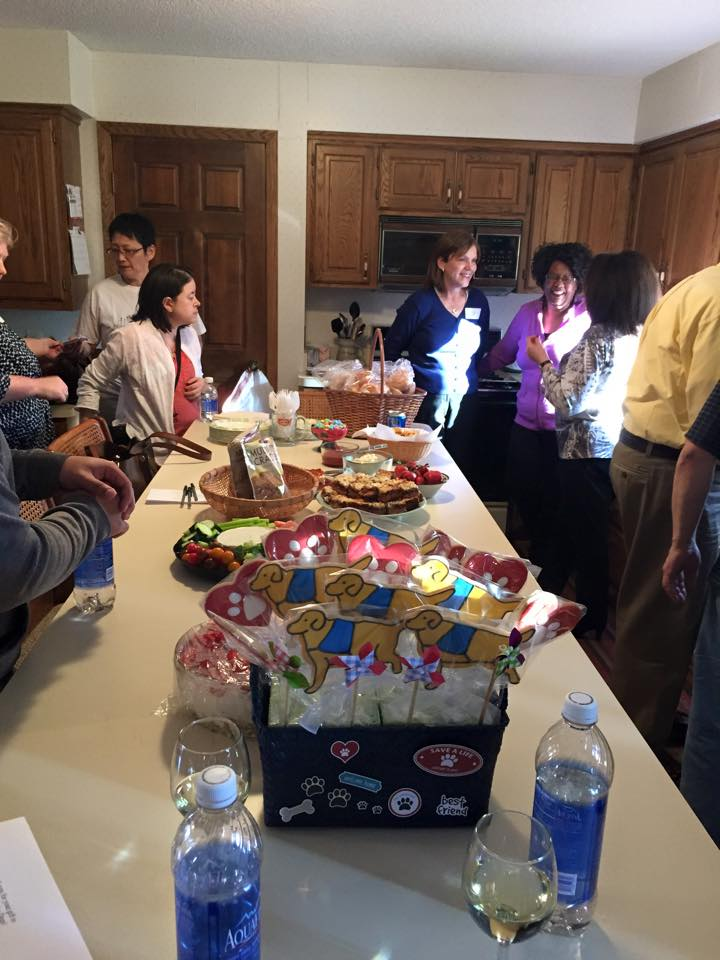 Service dog fundraising party