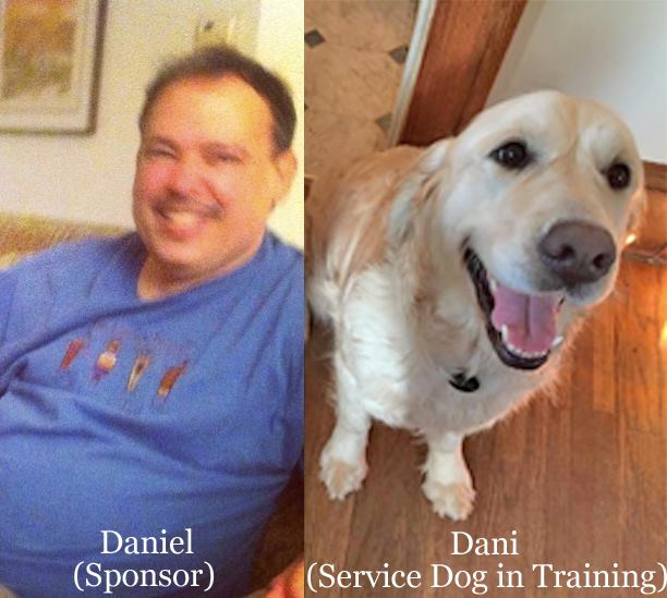 Honoring this sponsor for a service dog