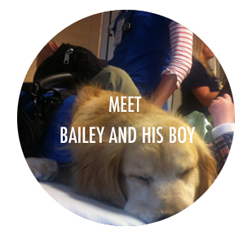 Meet Bailey and his boy