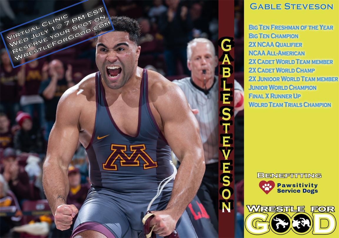 Gable Stevenson, Wrestling for Good