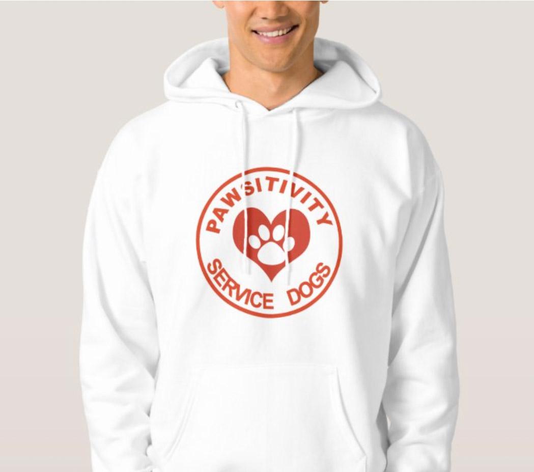 Pawsitivity Hoodie Sweatshirt