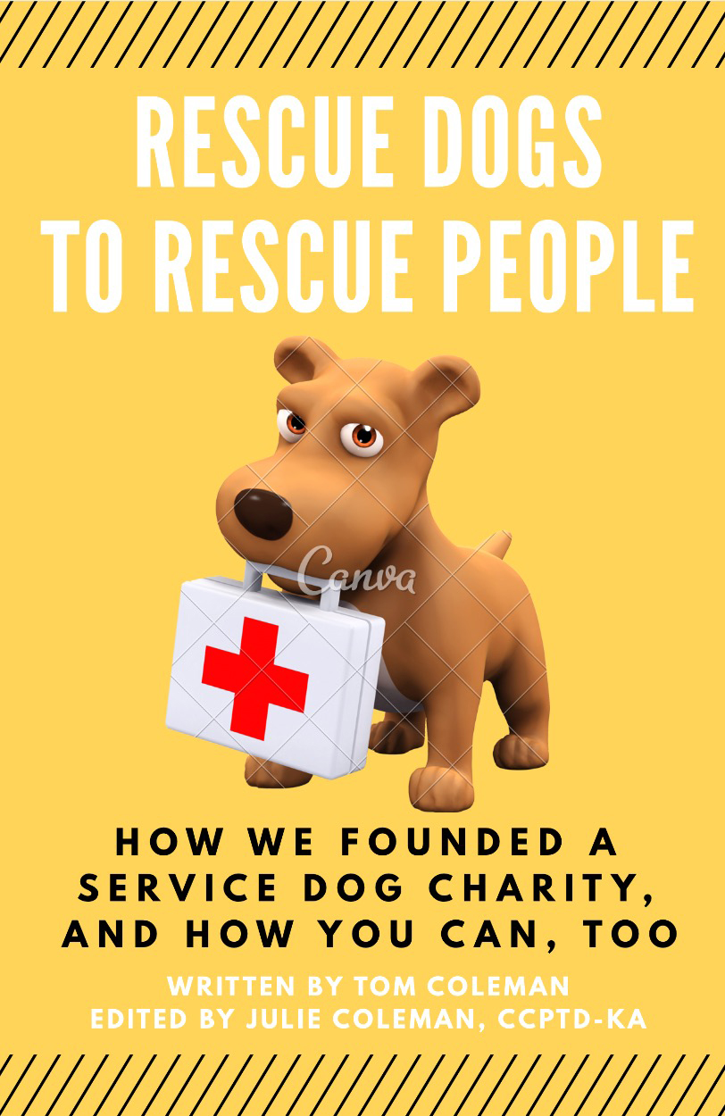 How to Start a Service Dog Charity