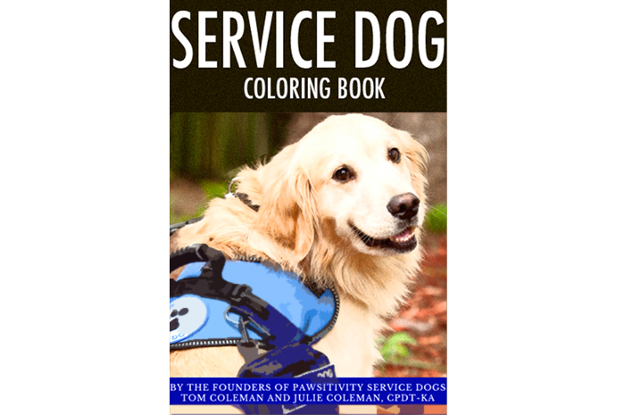 DO YOU LIKE COLORING Download A Free Coloring Book Of Service Dogs