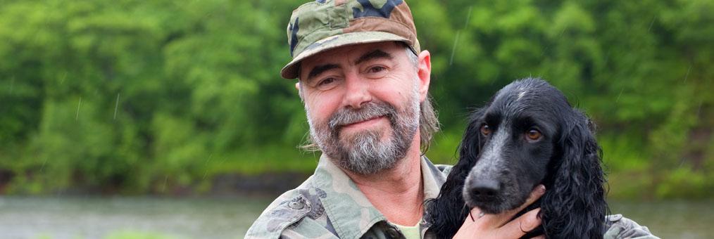 PTSD service dog for veteran