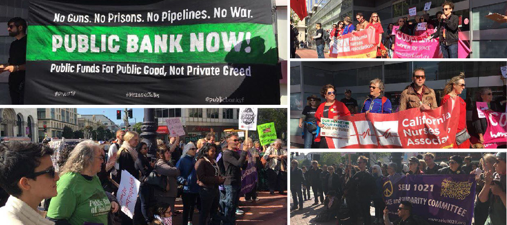 San Francisco Public Bank rally Apr 25, 2018
