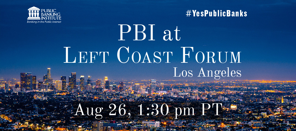 PBI at Left Coast Forum