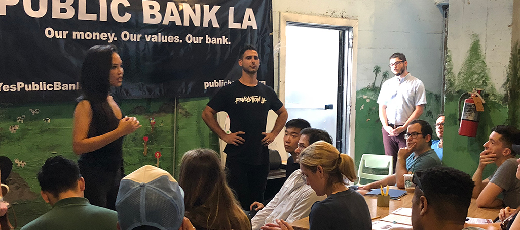 Public Bank LA campaign launch
