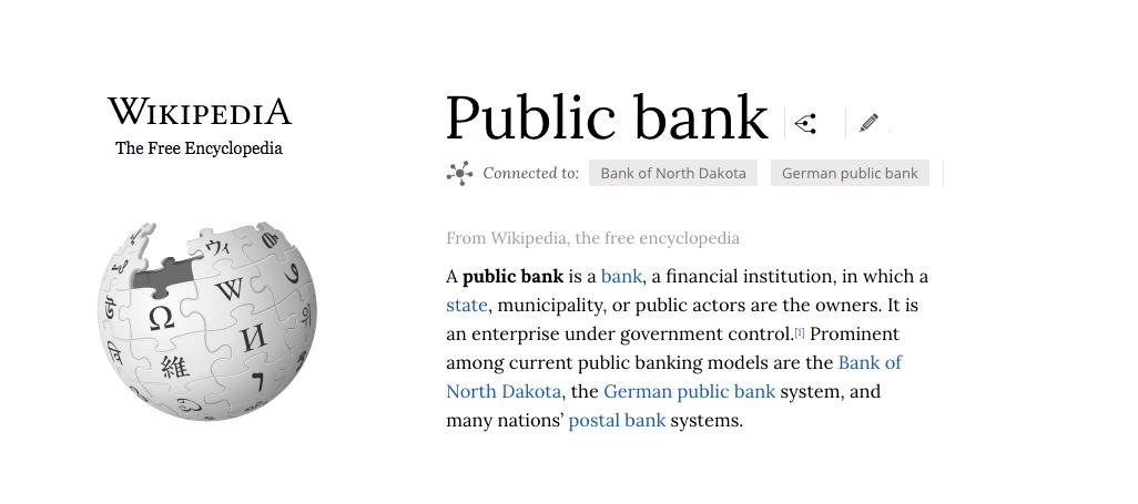 Wikipedia Public Bank