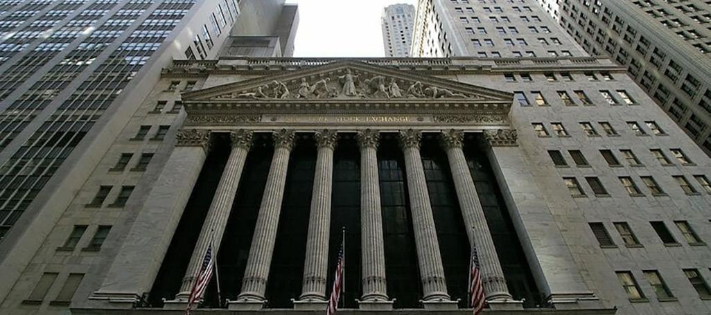 NY Stock Exchange Wall Street