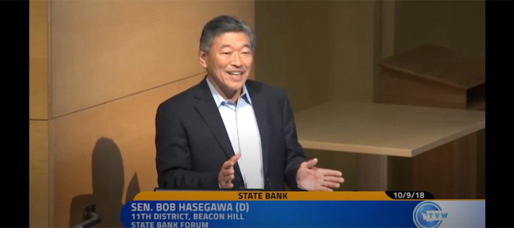 WA State Senator Bob Hasegawa