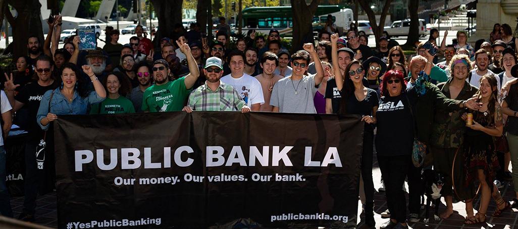 Public Bank LA Defundraiser