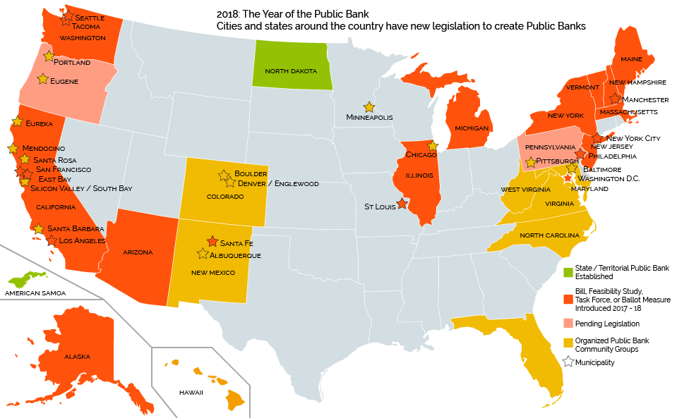 2018 Year of the Public Bank Map
