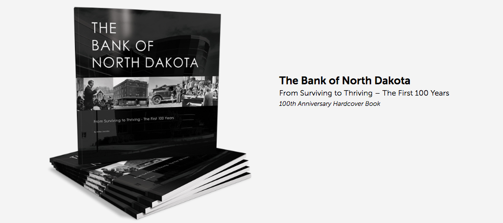 Bank of North Dakota book