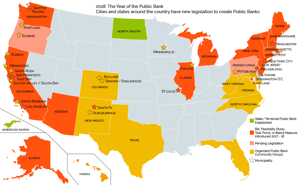 2018 The Year of the Public Bank map