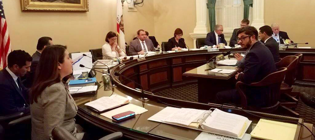 AB857 Local Gov't Committee hearing