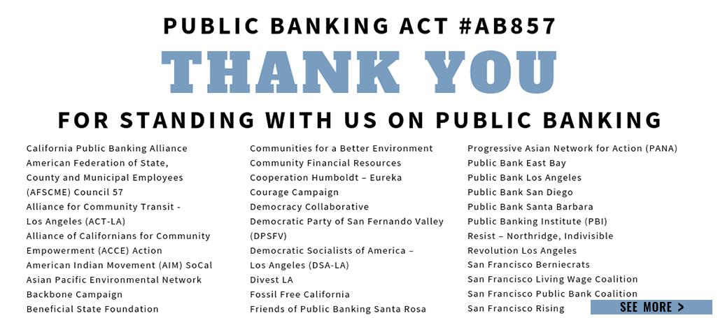 AB857 endorsers