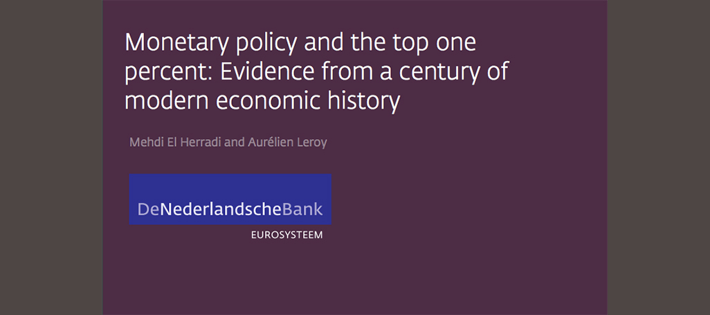 monetary policy and inequality study