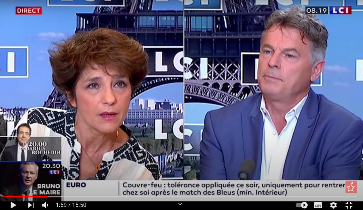 Fabien Roussel sur LCI