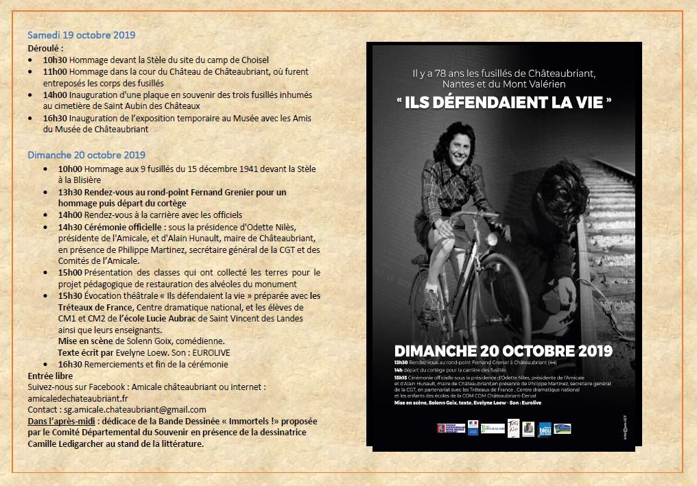 commémoration Chateaubriant
