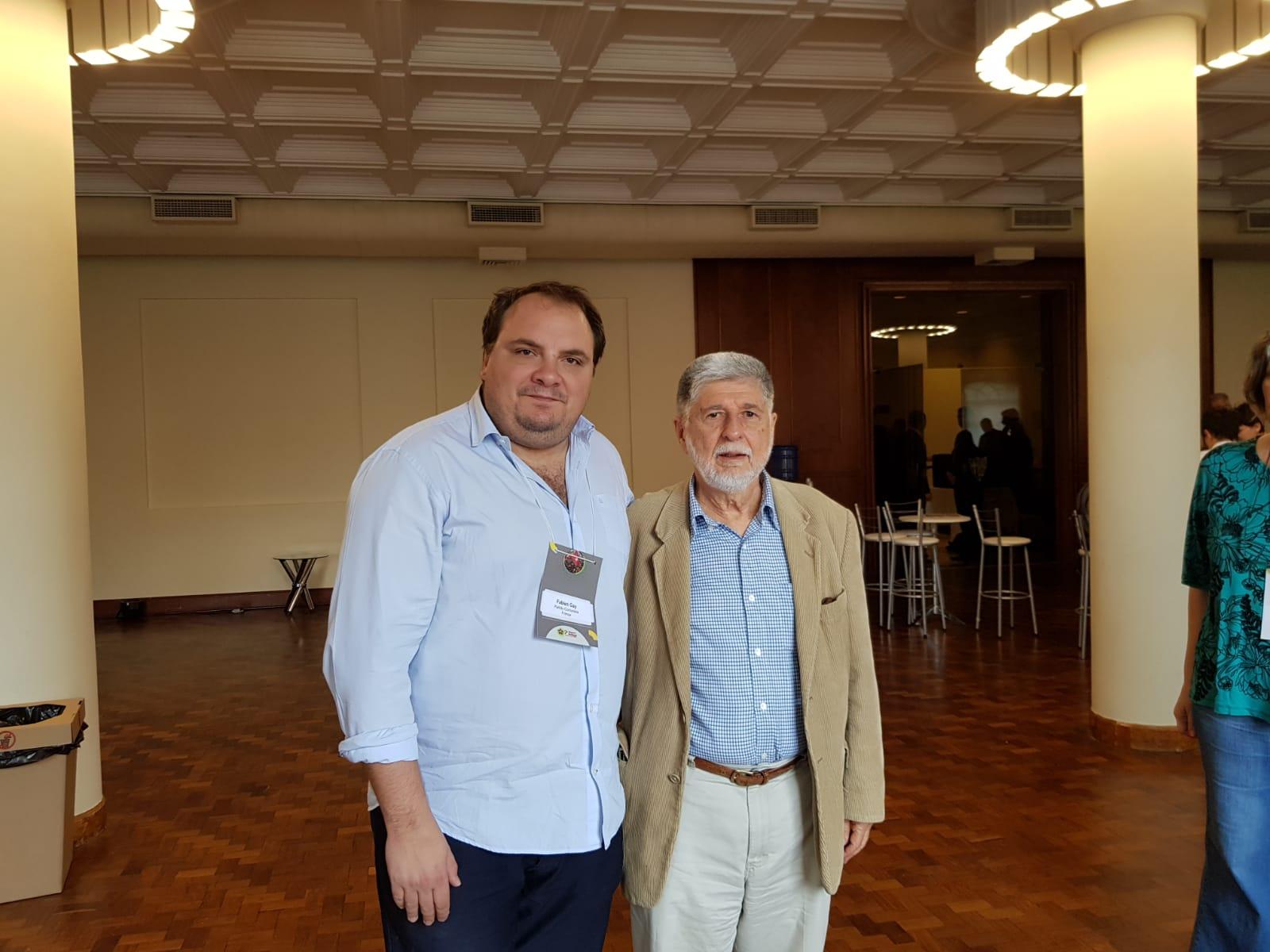 Rencontre avec Celso Amorim, président du comité international #LulaLivre.