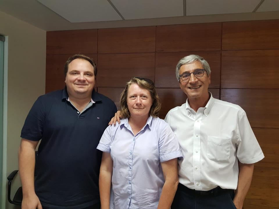 Rencontre avec Walter Sorrentino, responsable des relations internationales du PCdoB.