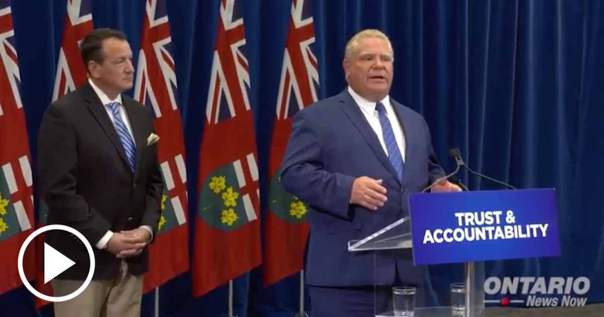 Premier Ford is taking Action to Clean Up the Hydro Mess