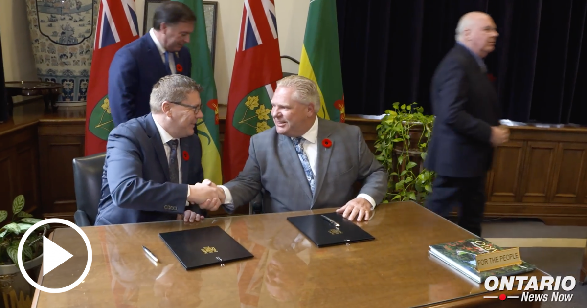 Working with Saskatchewan Premier to Fight Carbon Tax and Encourage Interprovincial Trade
