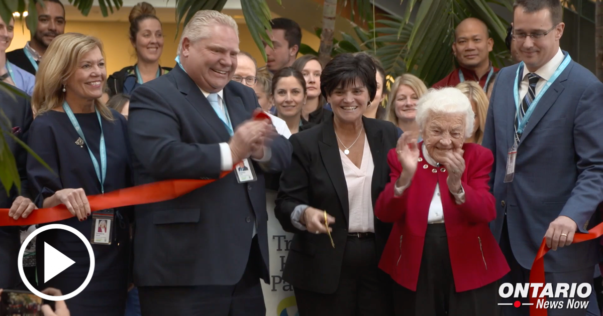 Improving Wait Times in Peel Region with Grand Opening of Credit Valley Hospital's Expansion