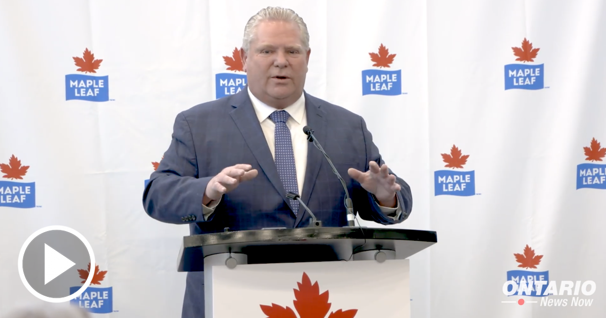 A Historic Investment for Maple Leaf Foods from the Ford Government