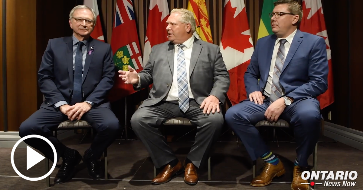 Premier Ford in Montreal Ahead of First Ministers Meeting