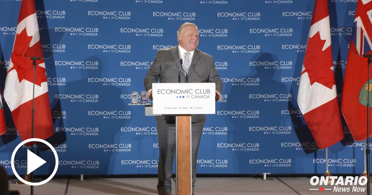 Premier Doug Ford Reaffirmed his Commitment to Make Ontario Open for Business