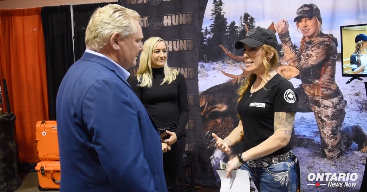 Premier Ford Visits the Toronto Sportsmen's Show