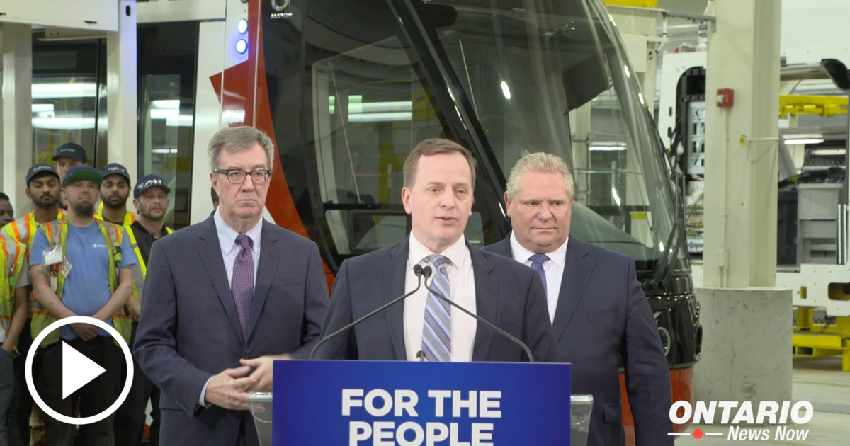 Our Government is Putting People First by Investing in Stage 2 of the Ottawa LRT