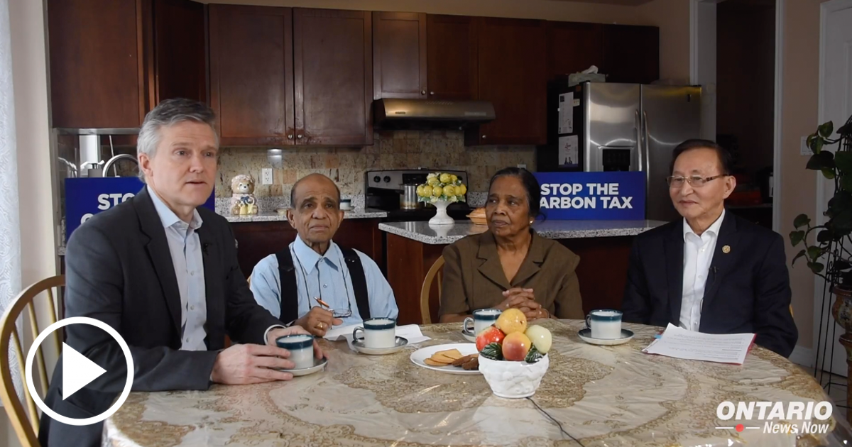 Ontario's Government is Standing Up For Seniors by Opposing the Unnecessary Federal Carbon Tax