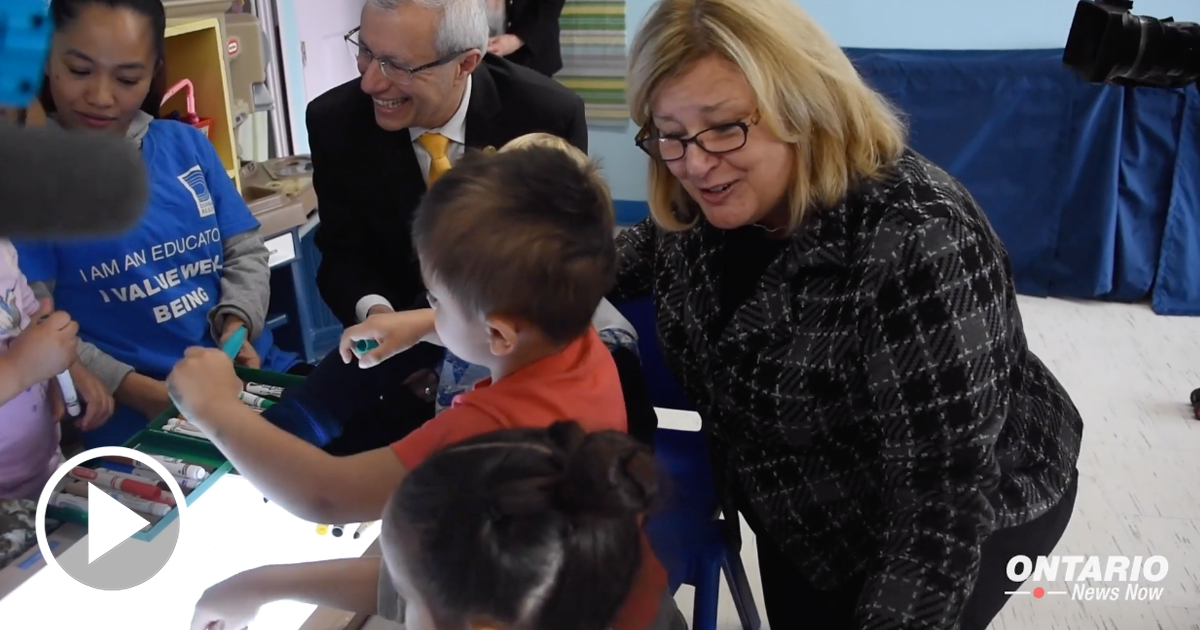 Our Government is Making Child Care More Affordable and More Accessible for Ontario Families