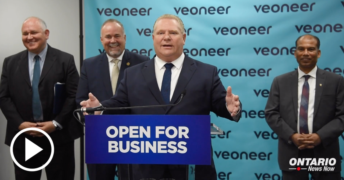 Premier Ford and Todd Smith are Committed to Helping Businesses Invest and Grow in Ontario